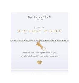 Katie Loxton Katie Loxton Children's Beaded Bracelet Birthday Wish