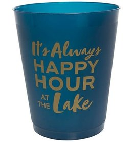 Slant Party Cups- Always Happy Hour