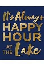 Slant Bev Napkin- Happy Hour Lake