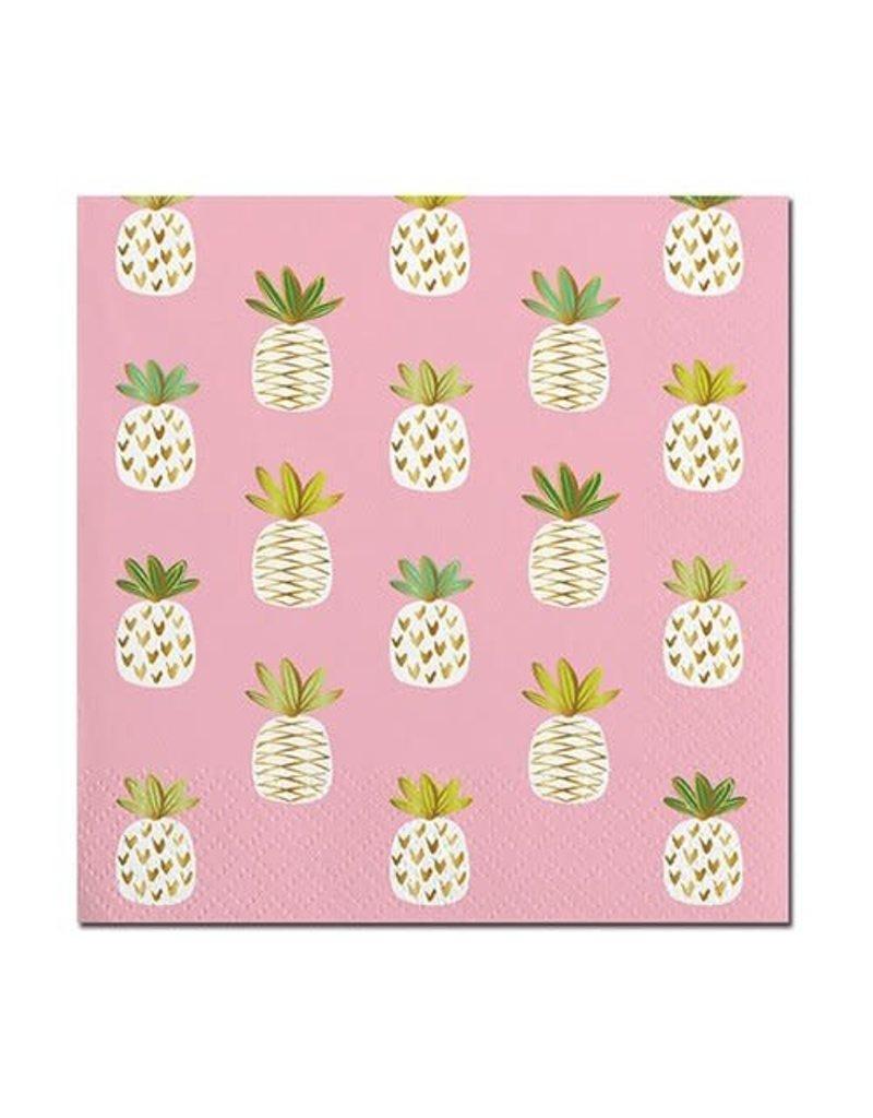 Bev Napkin- Pineapples