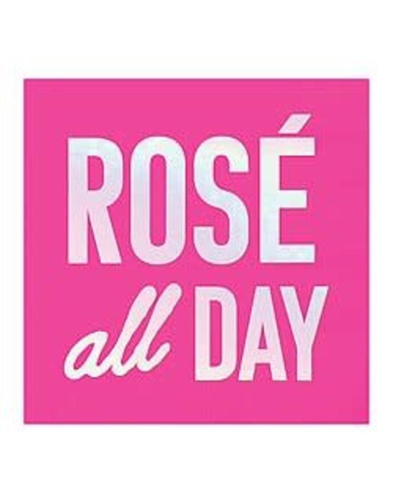 Bev Napkin- Rose All Day Bright Pink