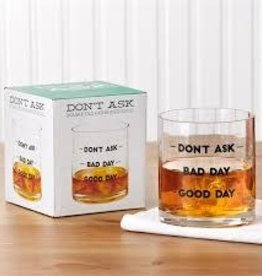 Two's Company Rocks Glass- Don't Ask