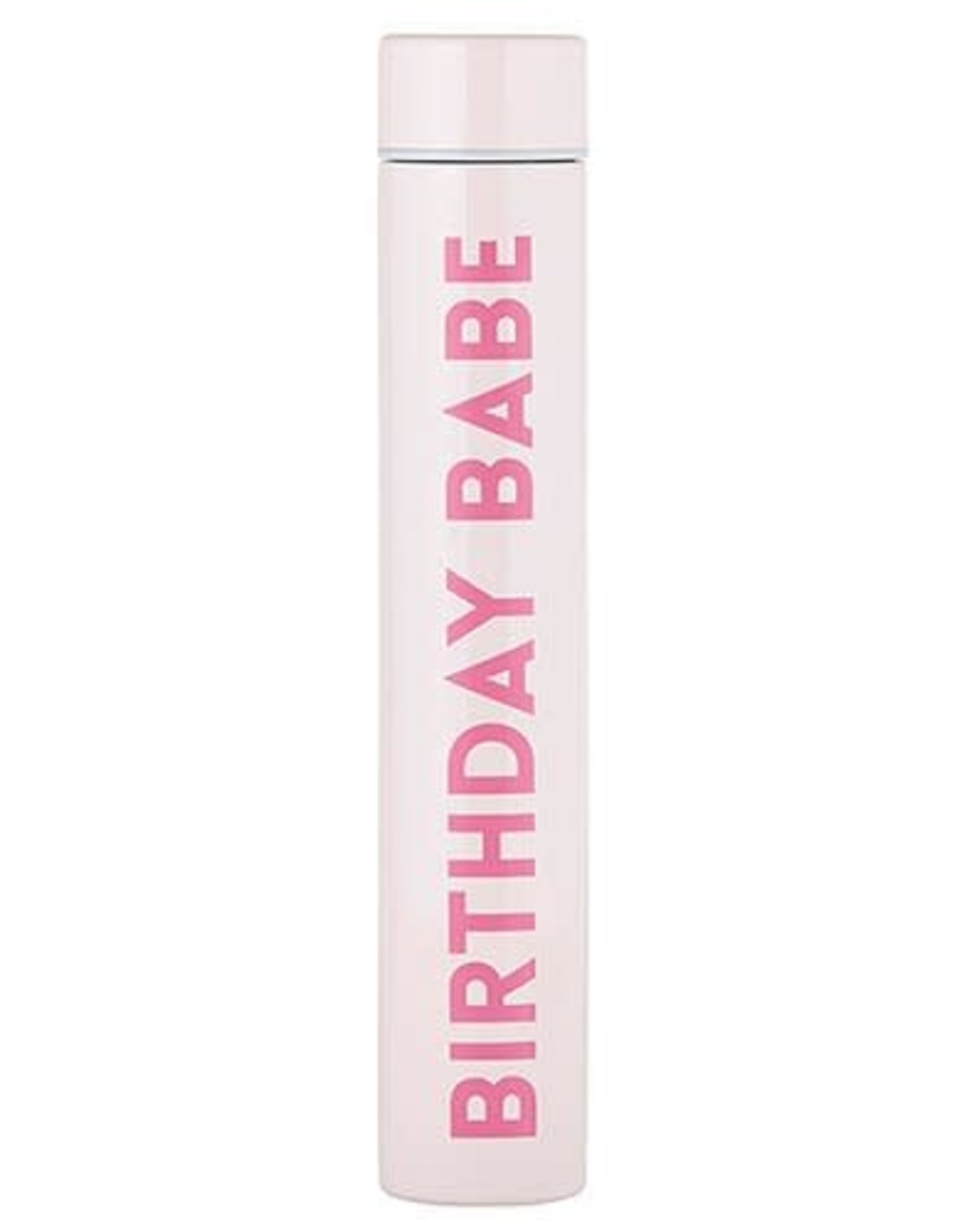 Santa Barbara Flask Bottle Birthday Babe