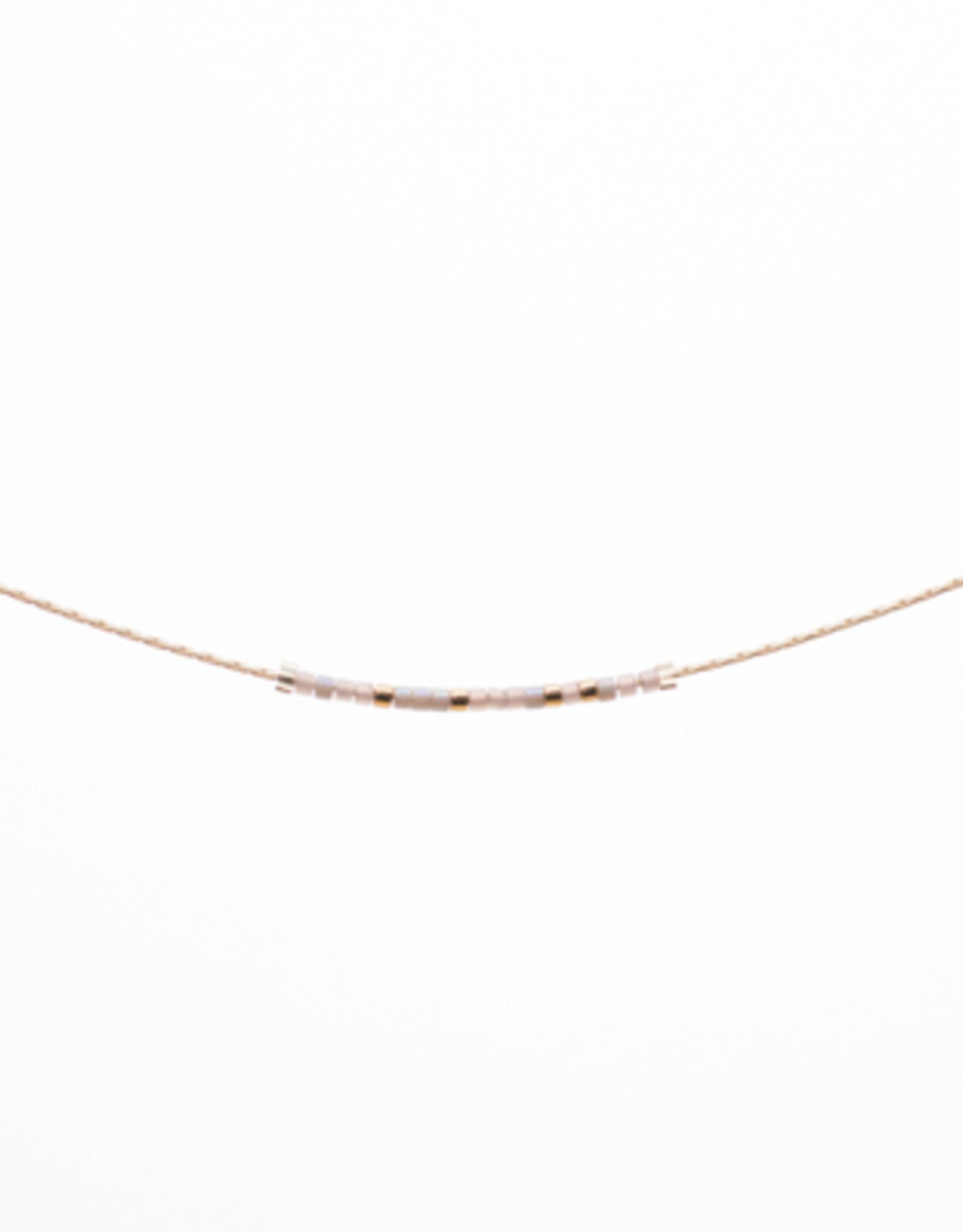Morse Code Necklace Loved