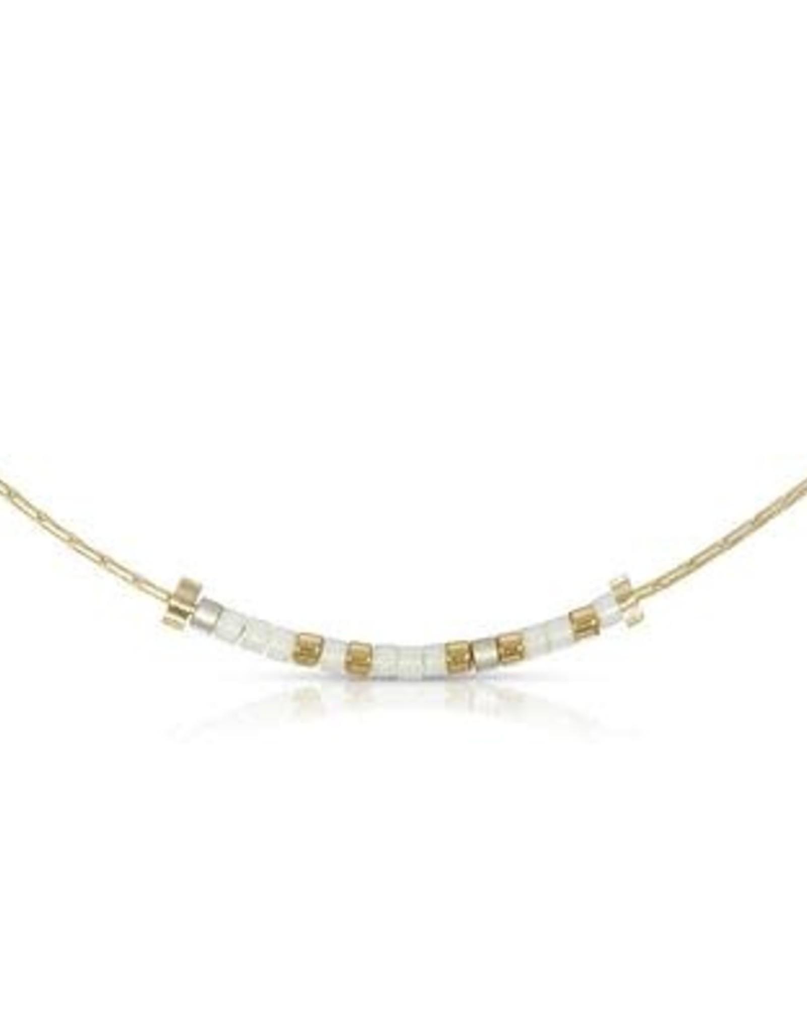 Morse Code Necklace Bestie