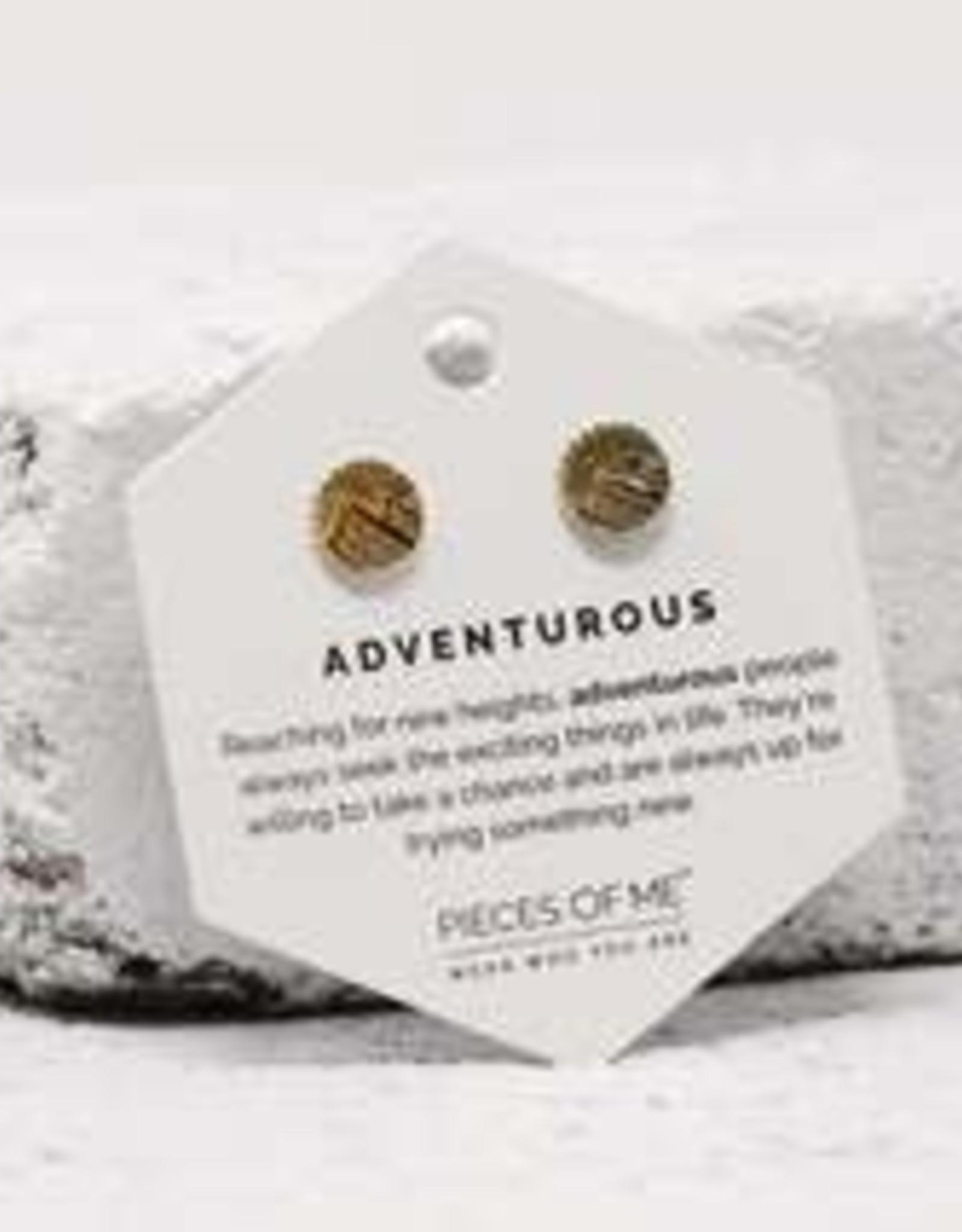 Pieces of Me Earrings - Gold Adventurous