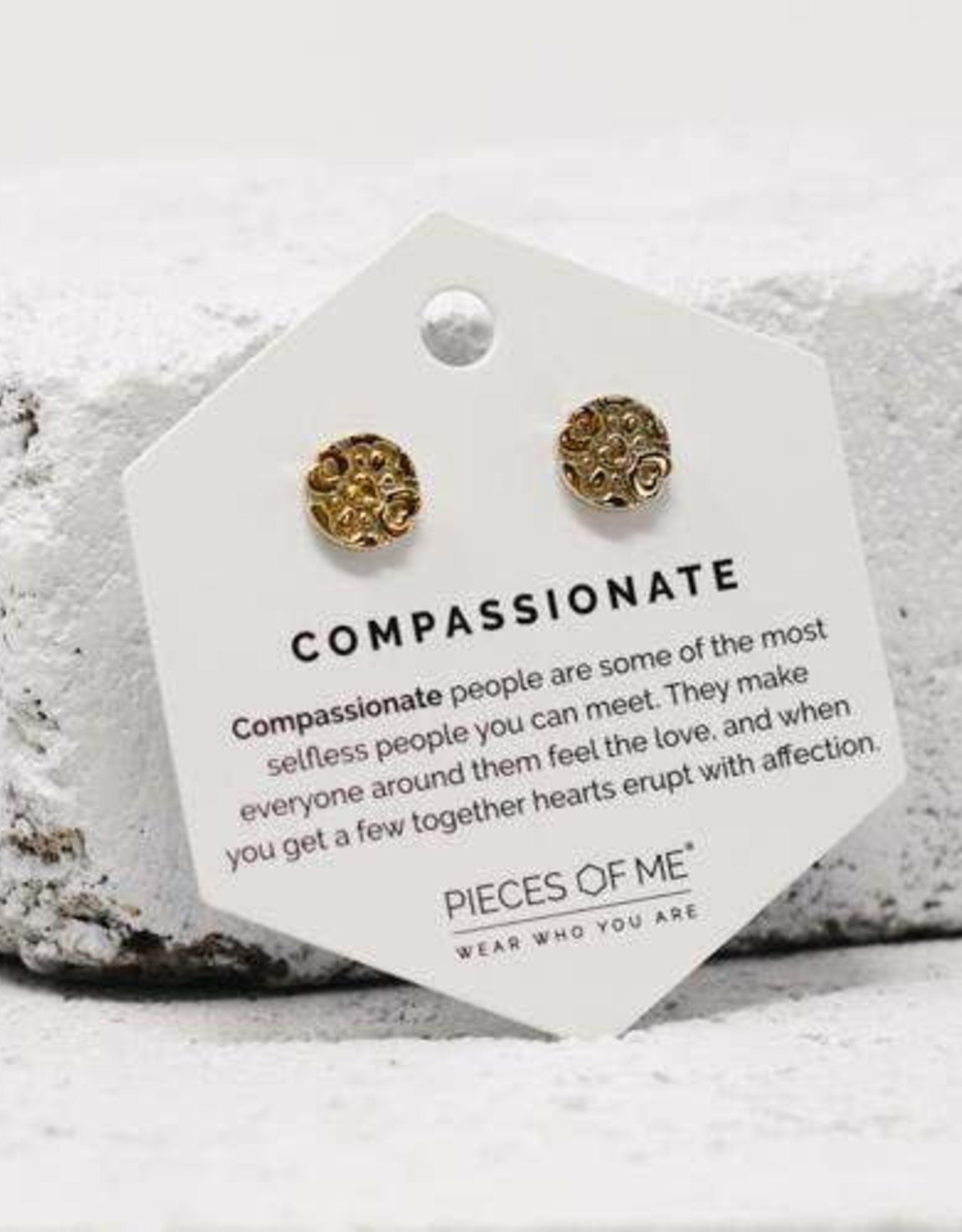 Pieces of Me Earrings - Gold Compassionate