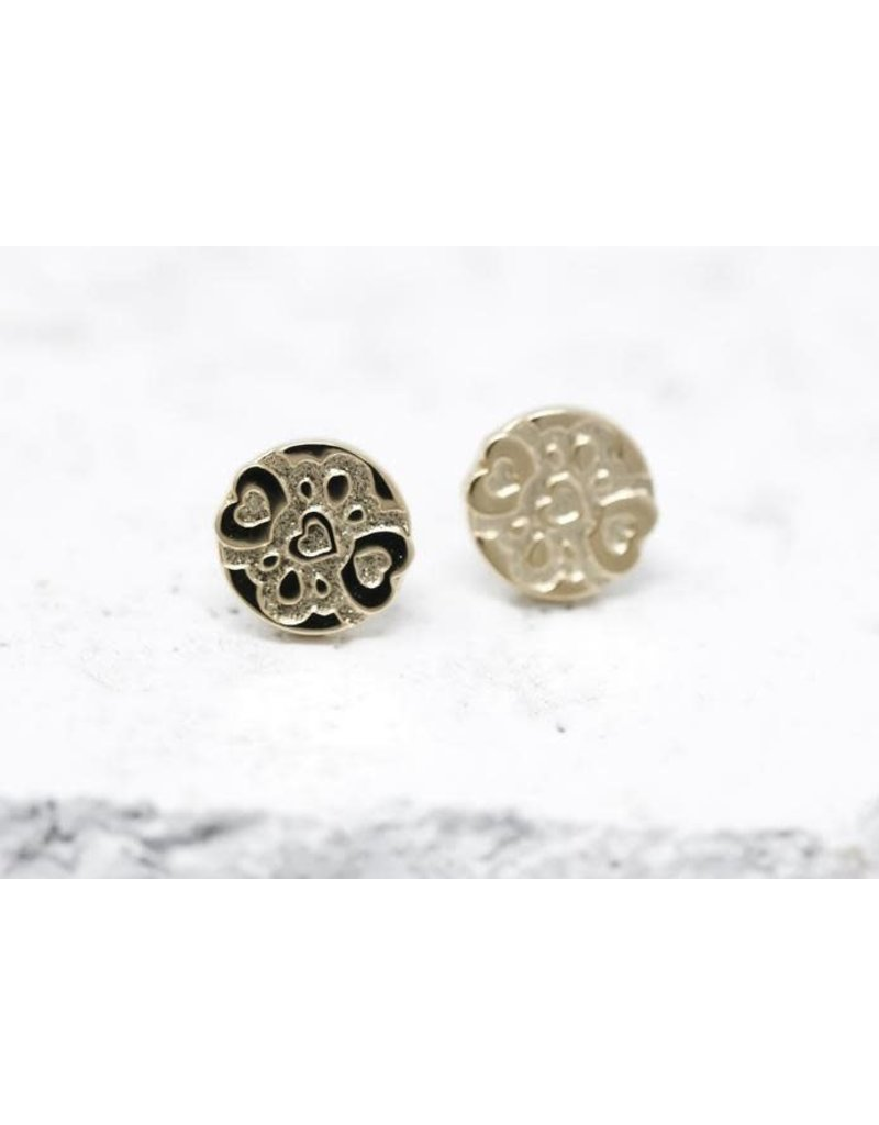Pieces of Me Earrings -Compassionate Gold