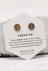 Pieces of Me Earrings - Gold Creative