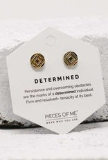 Pieces of Me Earrings - Gold Determined