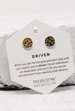 Pieces of Me Earrings - Gold Driven