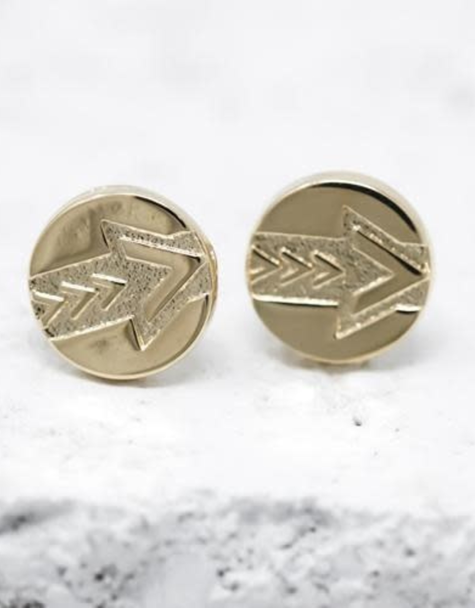 Pieces of Me Earrings - Gold Leader