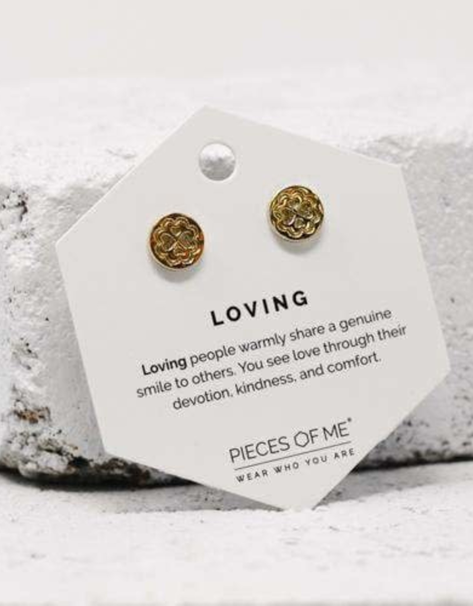 Pieces of Me Earrings - Gold Loving