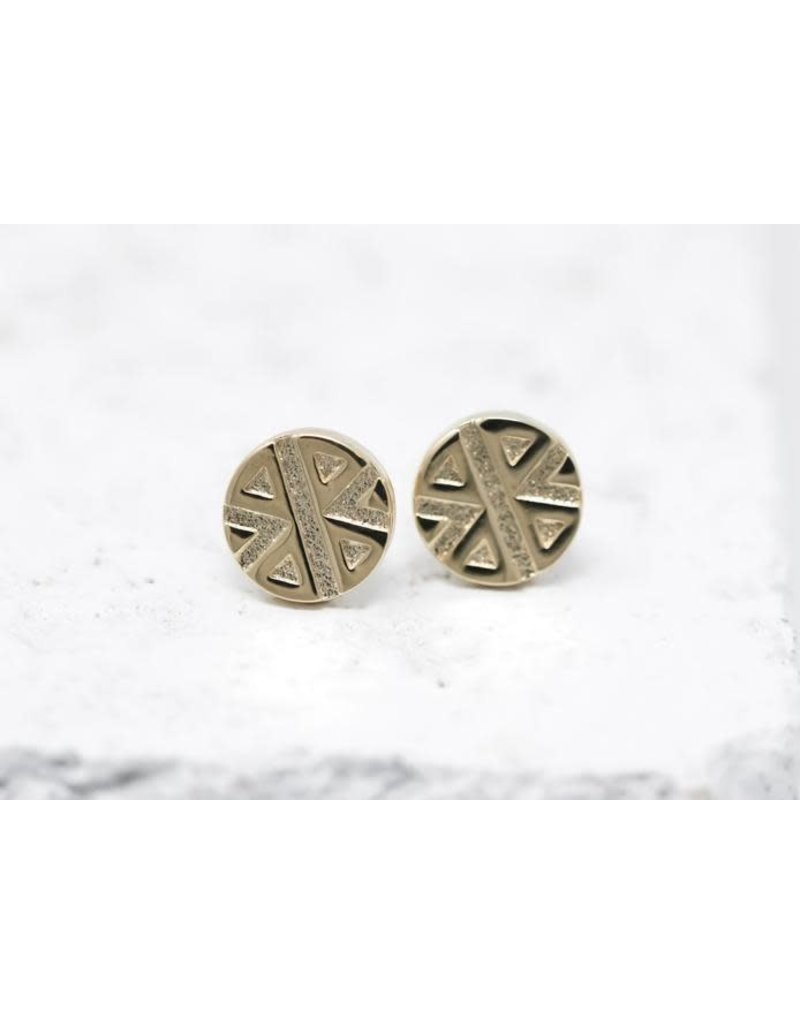 Pieces of Me Earrings -Strong Gold