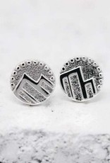 Pieces of Me Earrings - Silver Adventurous