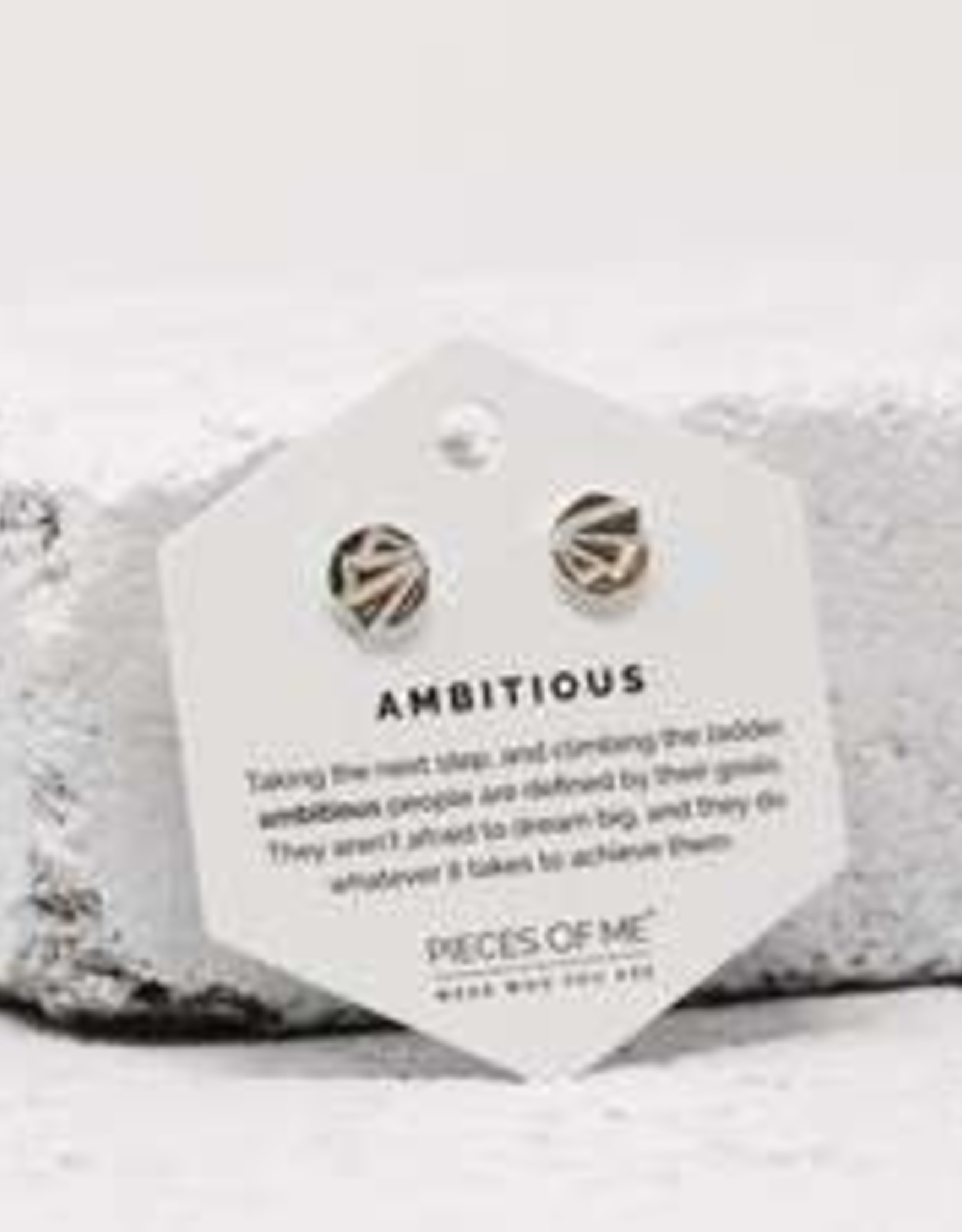 Pieces of Me Earrings - Silver Ambitious