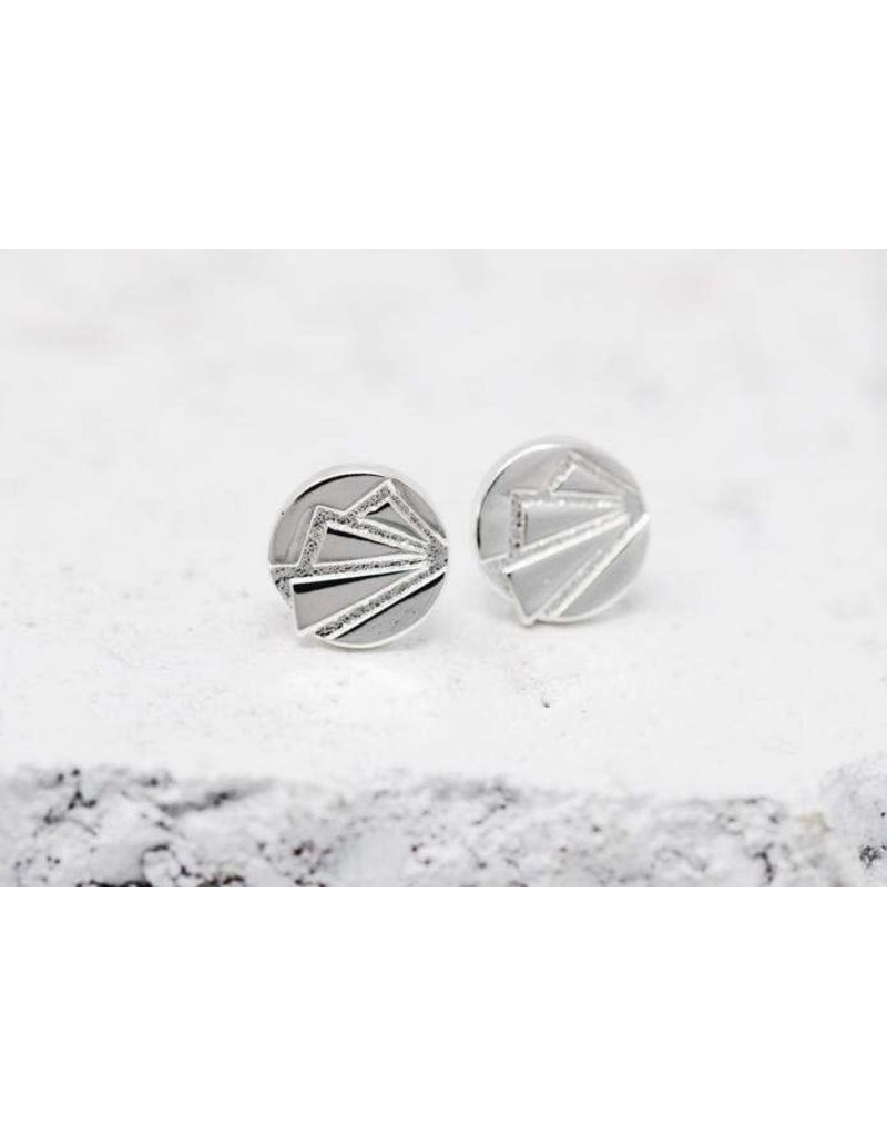 Pieces of Me Earrings -Ambitious Silver