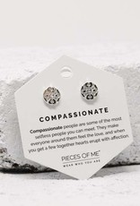 Pieces of Me Earrings - Silver Compassionate