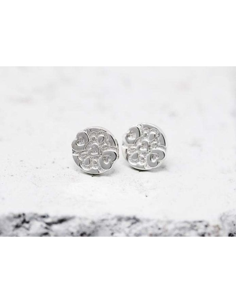 Pieces of Me Earrings -Compassionate Silver