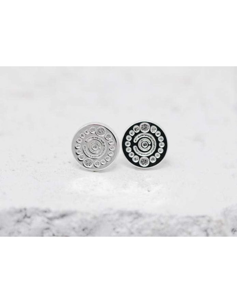 Pieces of Me Earrings -Creative Silver