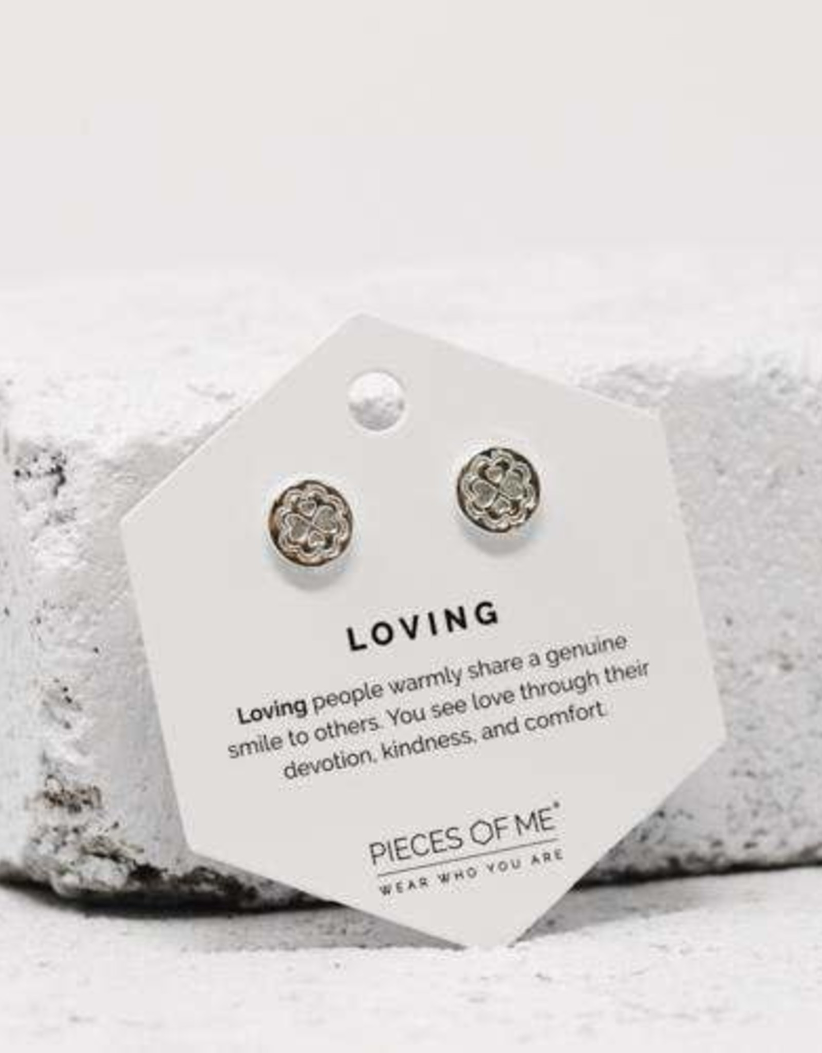 Pieces of Me Earrings - Silver Loving