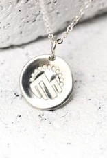 Pieces of Me Necklace Adventurous Silver