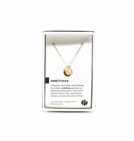 Pieces of Me Necklace Ambitious Gold