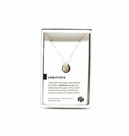 Pieces of Me Necklace Ambitious Silver