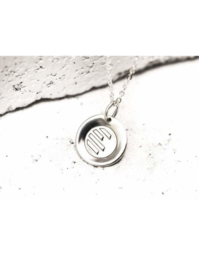 Pieces of Me Necklace Athletic Silver