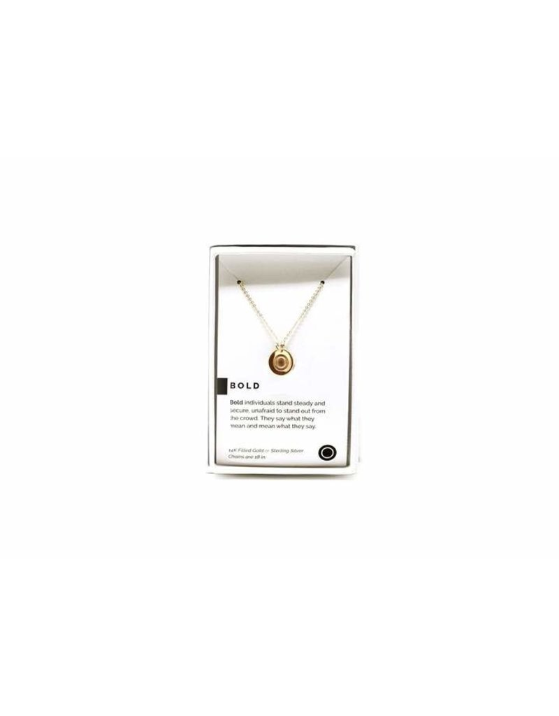 Pieces of Me Necklace Bold Gold