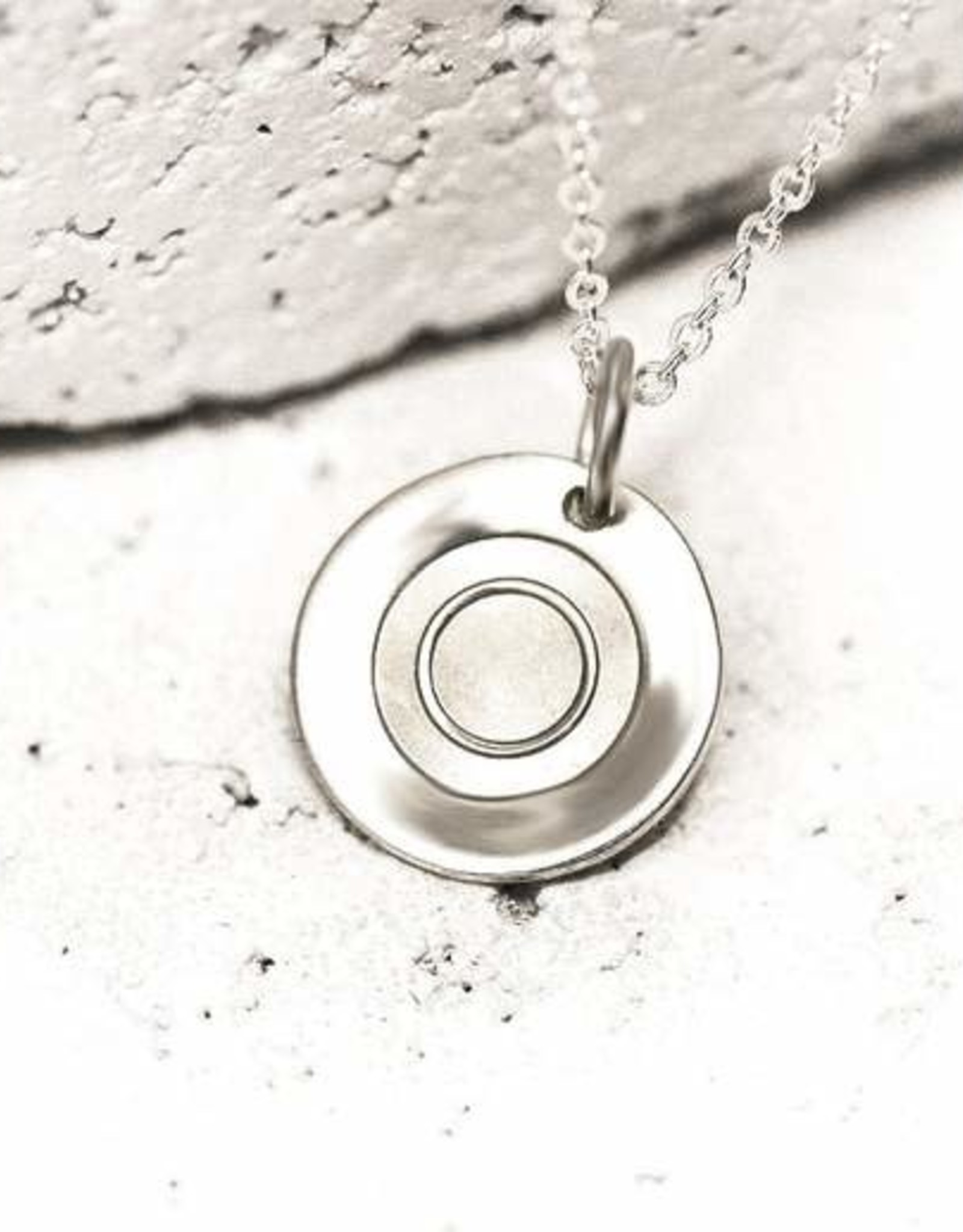 Pieces of Me Necklace Bold Silver