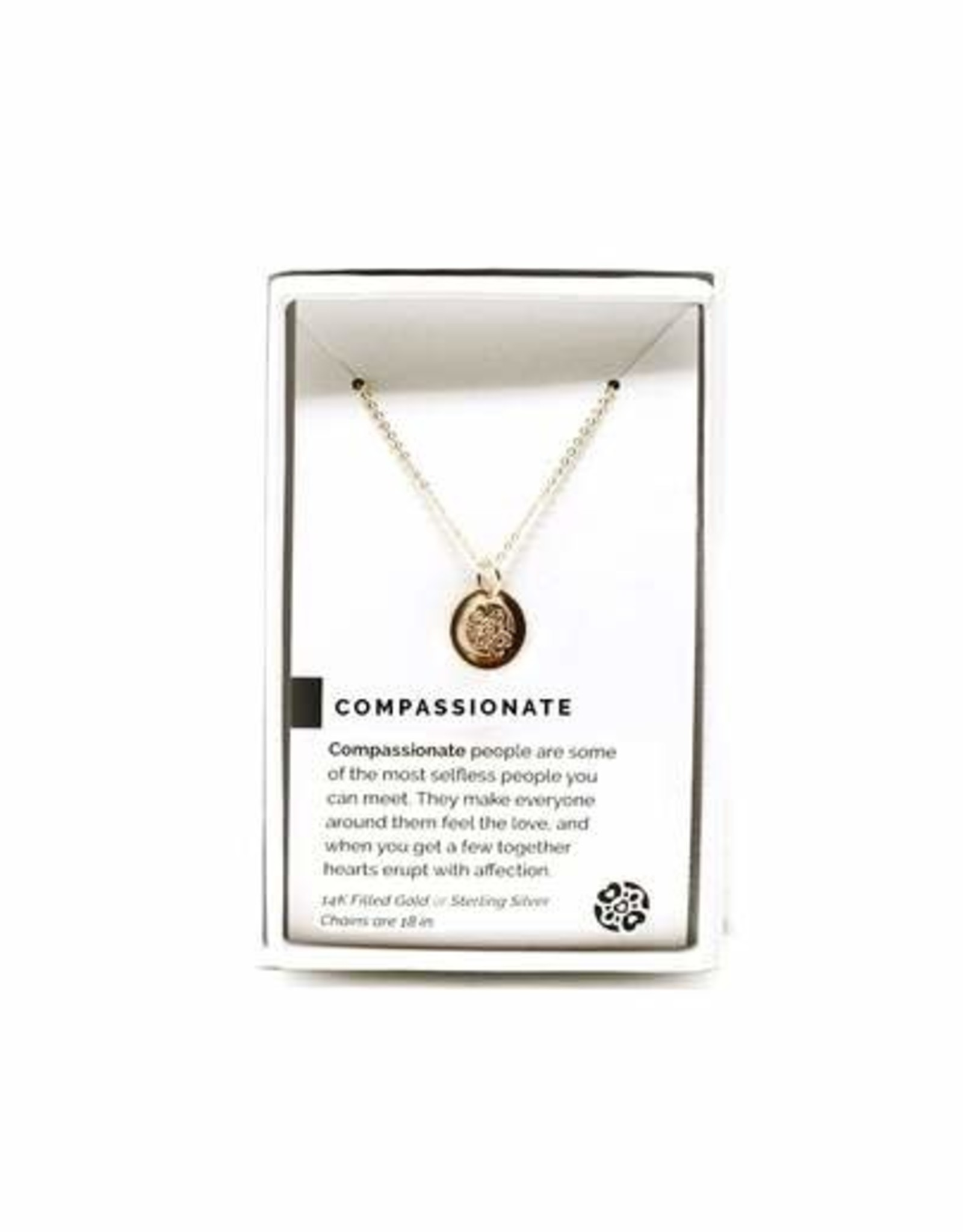 Pieces of Me Necklace Compassionate Gold