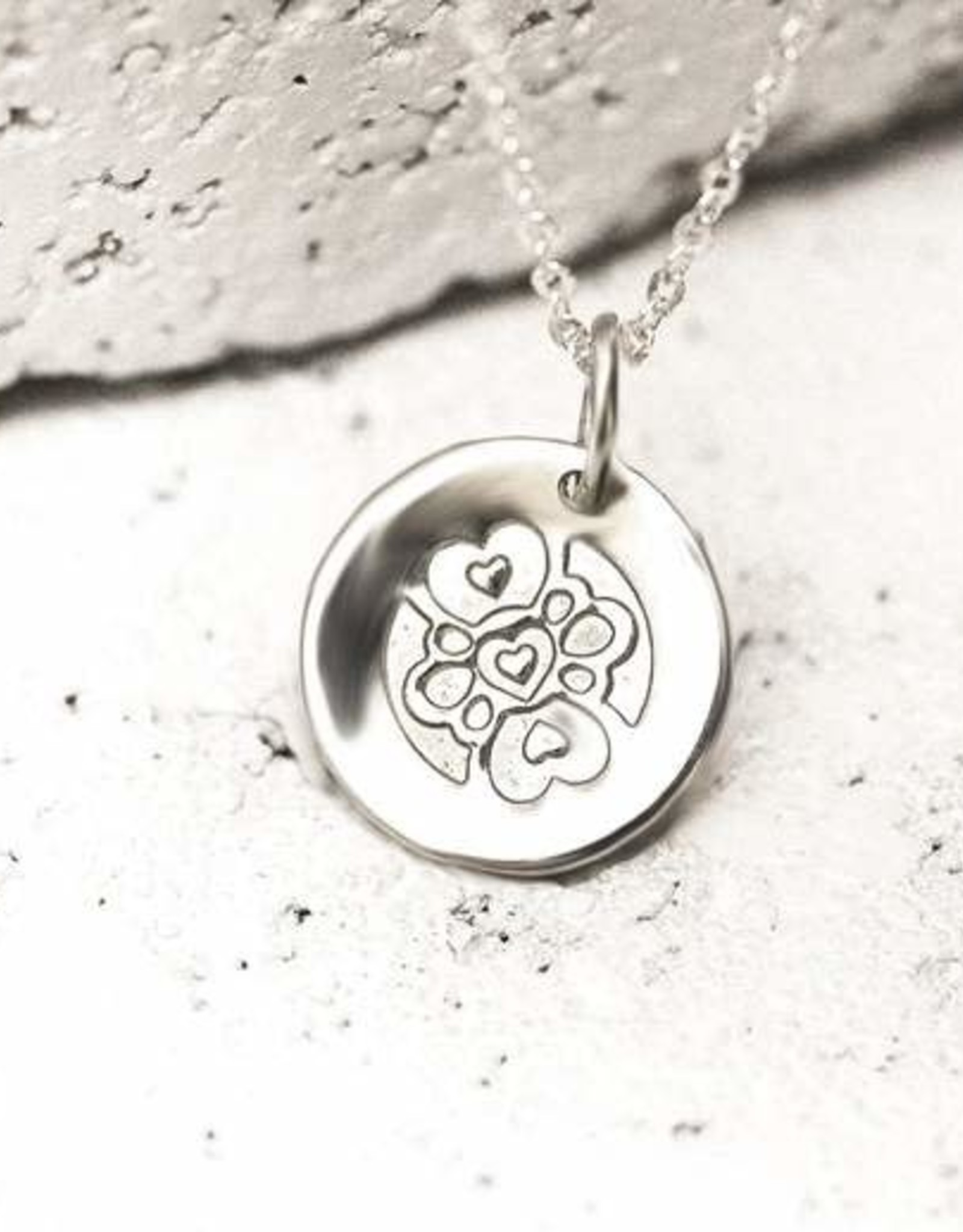 Pieces of Me Necklace Compassionate Silver