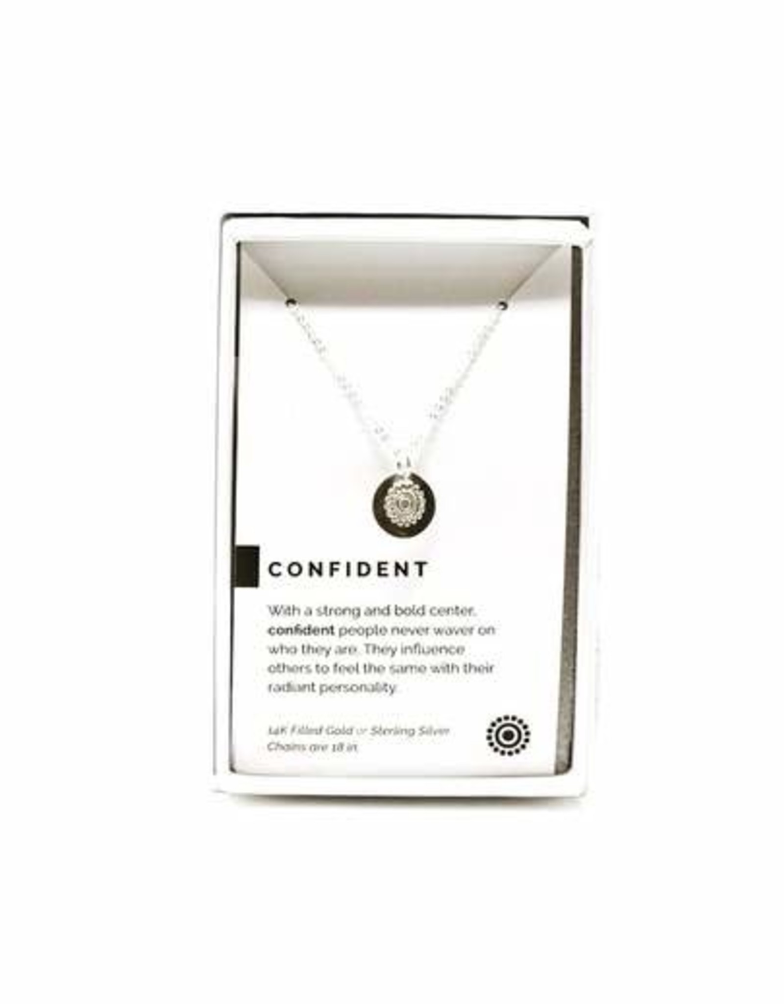 Pieces of Me Necklace Confident Silver