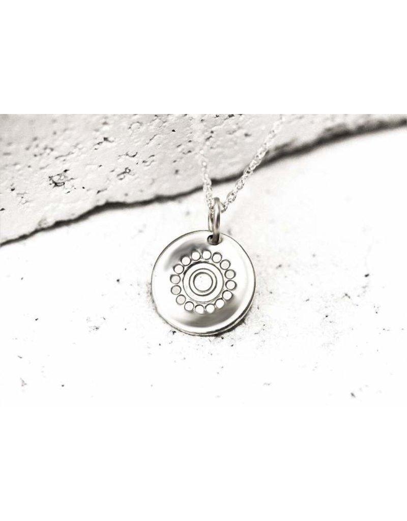 Pieces of Me Necklace Confident Silver