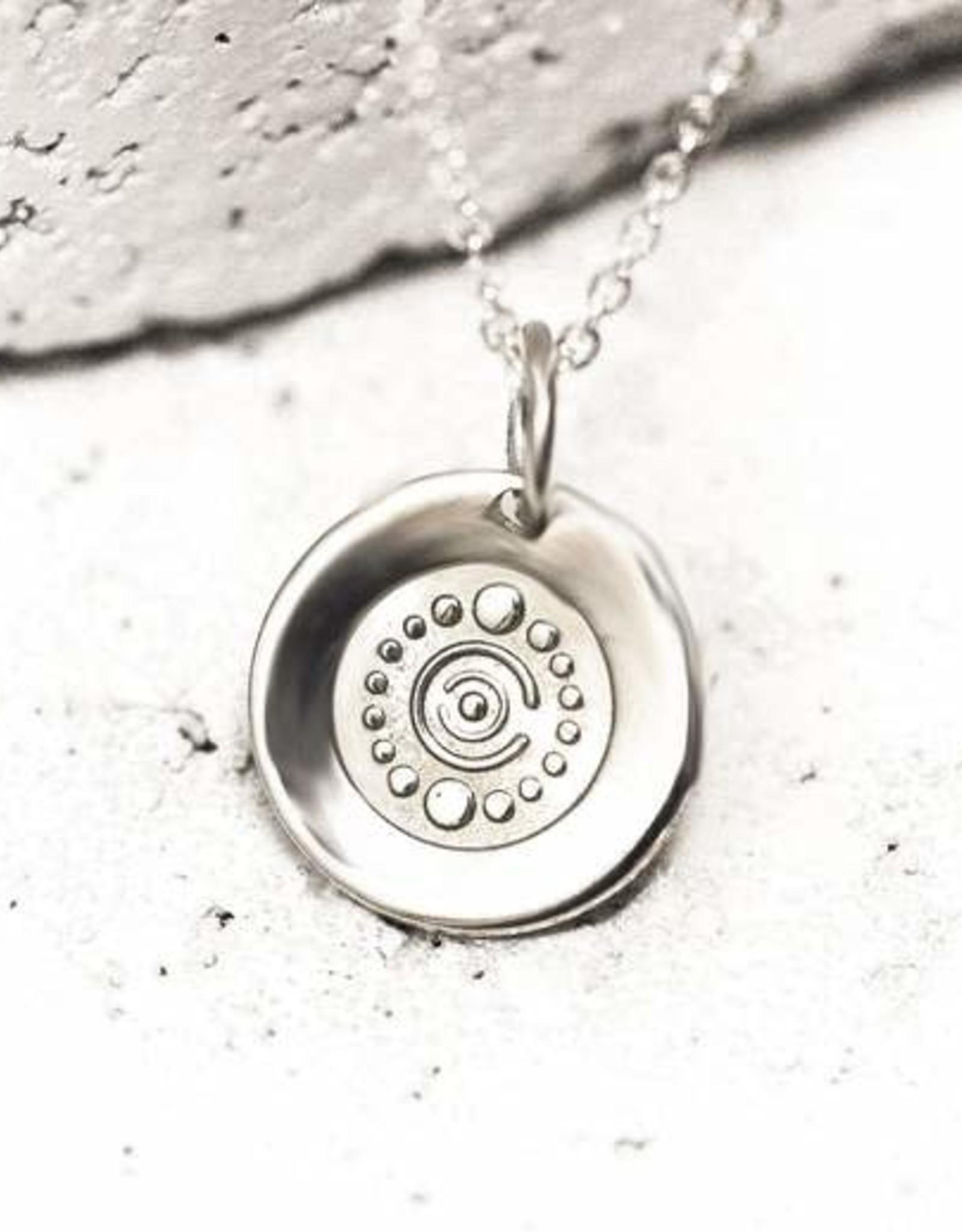 Pieces of Me Necklace Creative Silver