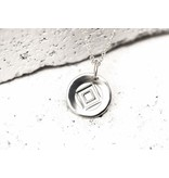 Pieces of Me Necklace Determined Silver