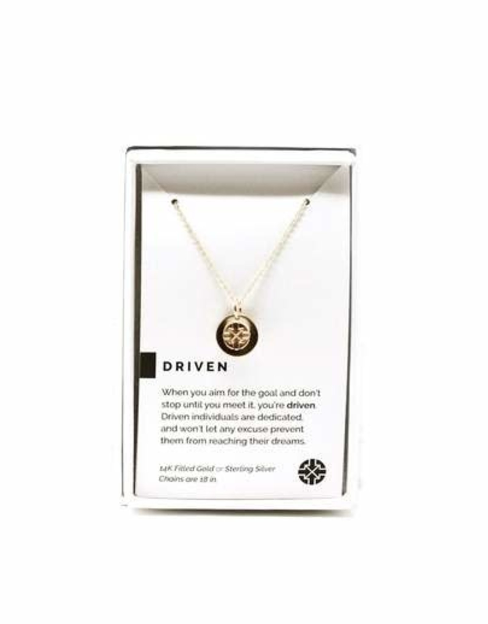 Pieces of Me Necklace Driven Gold