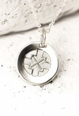 Pieces of Me Necklace Driven SIlver