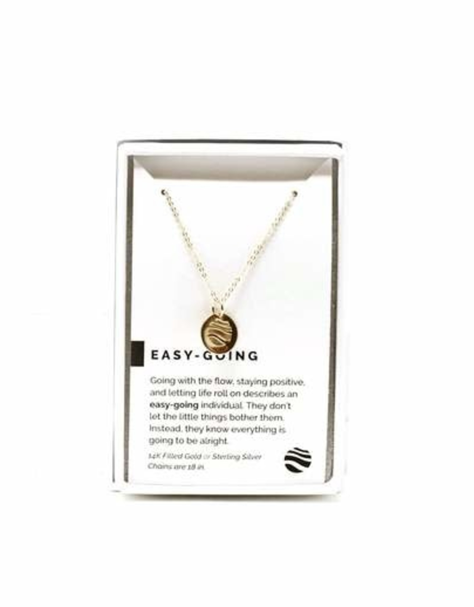 Pieces of Me Necklace Easy-Going Gold