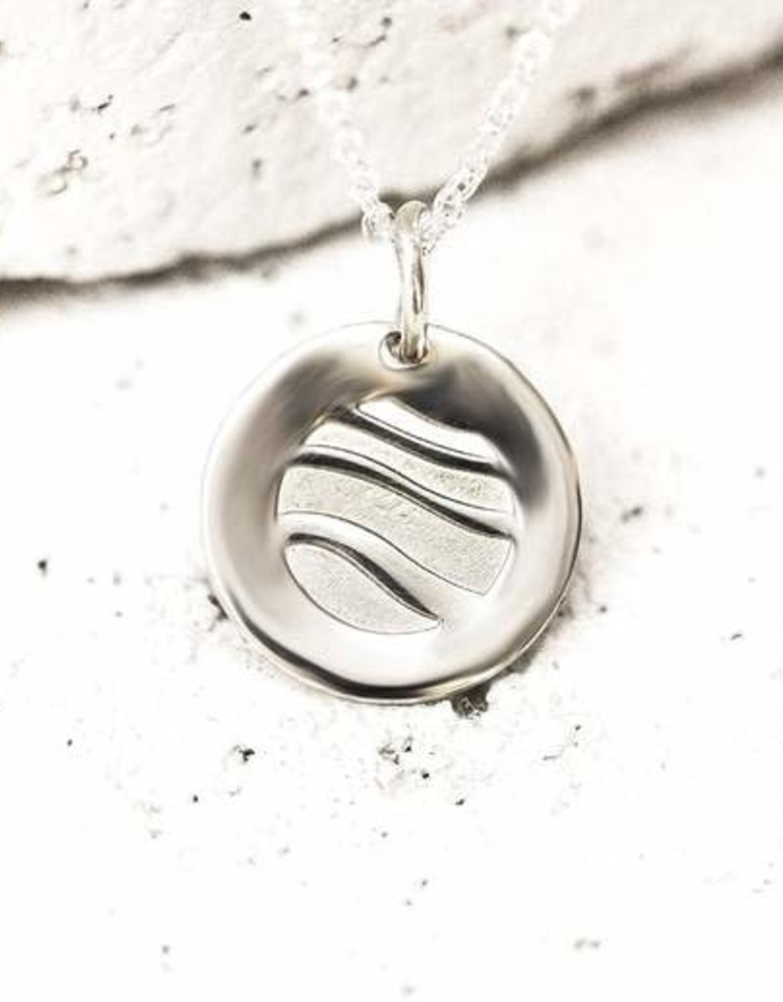 Pieces of Me Necklace Easy-Going Silver