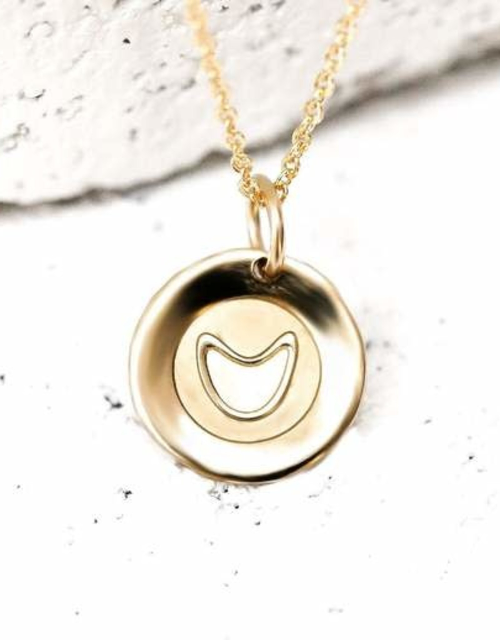 Pieces of Me Necklace Funny Gold