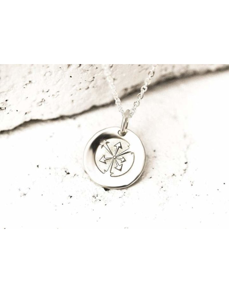 Pieces of Me Necklace Hardworking Silver