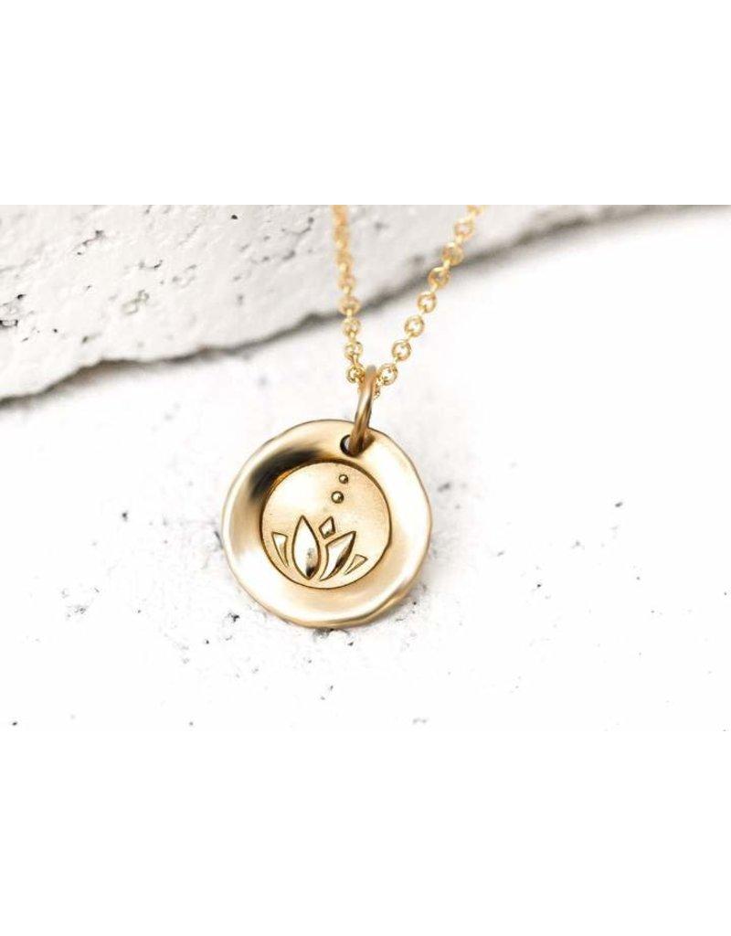 Pieces of Me Necklace Honest Gold