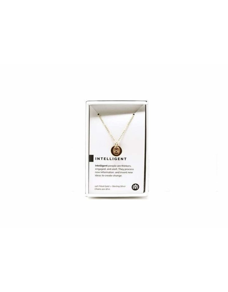 Pieces of Me Necklace Intelligent Gold