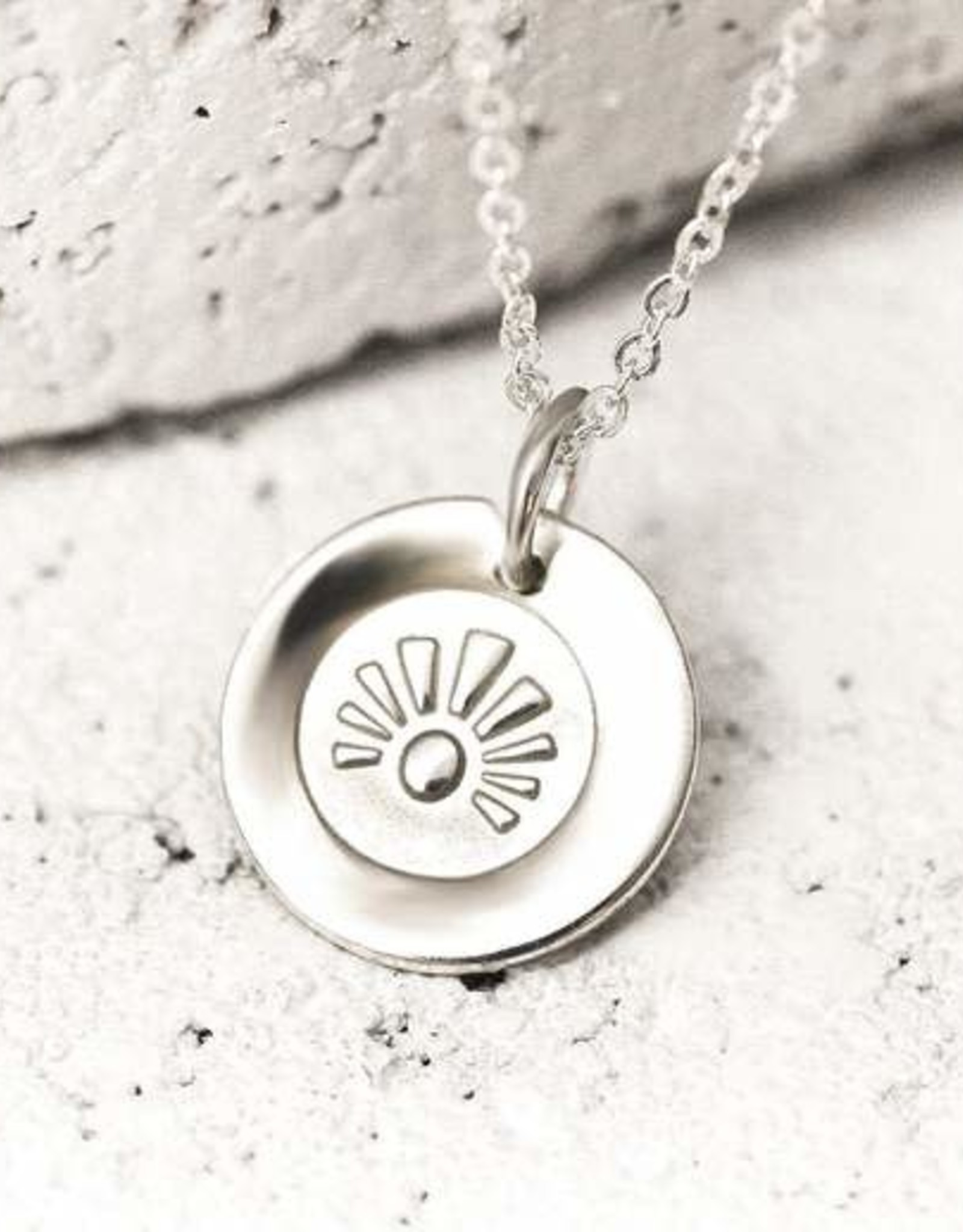 Pieces of Me Necklace Intelligent Silver