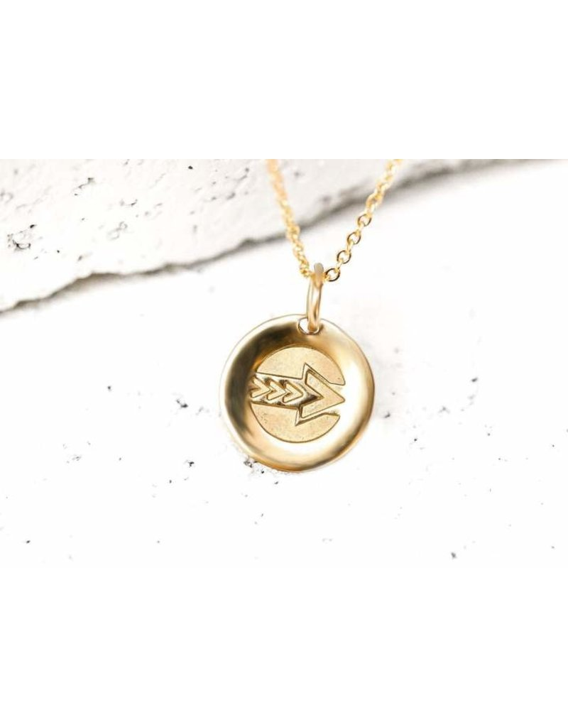 Pieces of Me Necklace Leader Gold