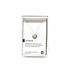 Pieces of Me Necklace Leader Silver