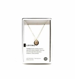 Pieces of Me Necklace Loving Gold