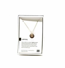 Pieces of Me Necklace Loyal Gold